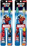 Reach Kids Mavel Soft Toothbrush, 2 Count