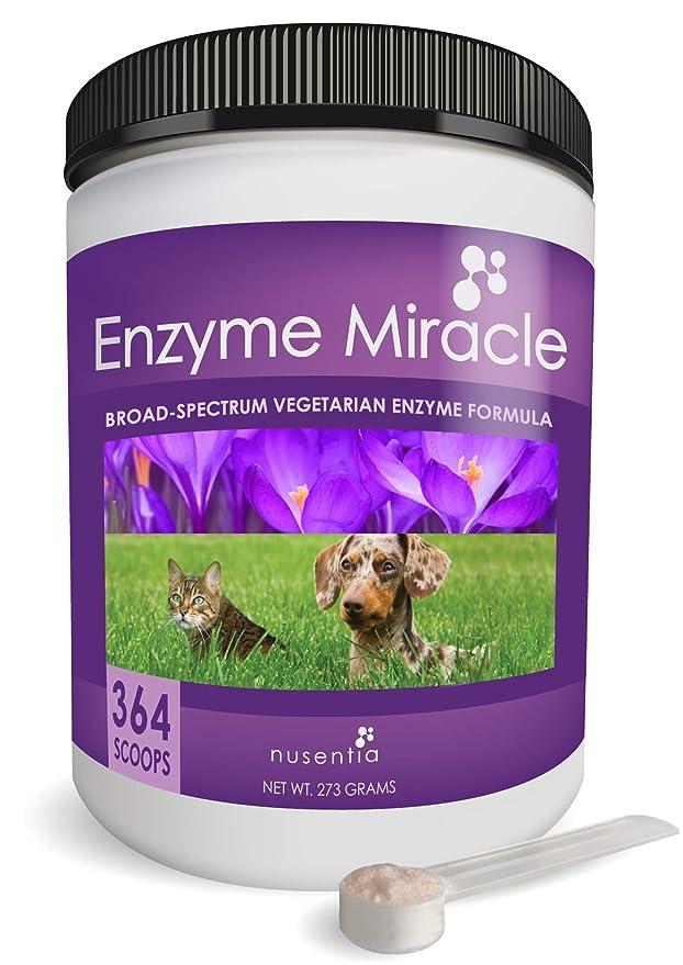 Nusentia Las enzimas digestivas para Perros - Enzima Milagro - 364 ...
