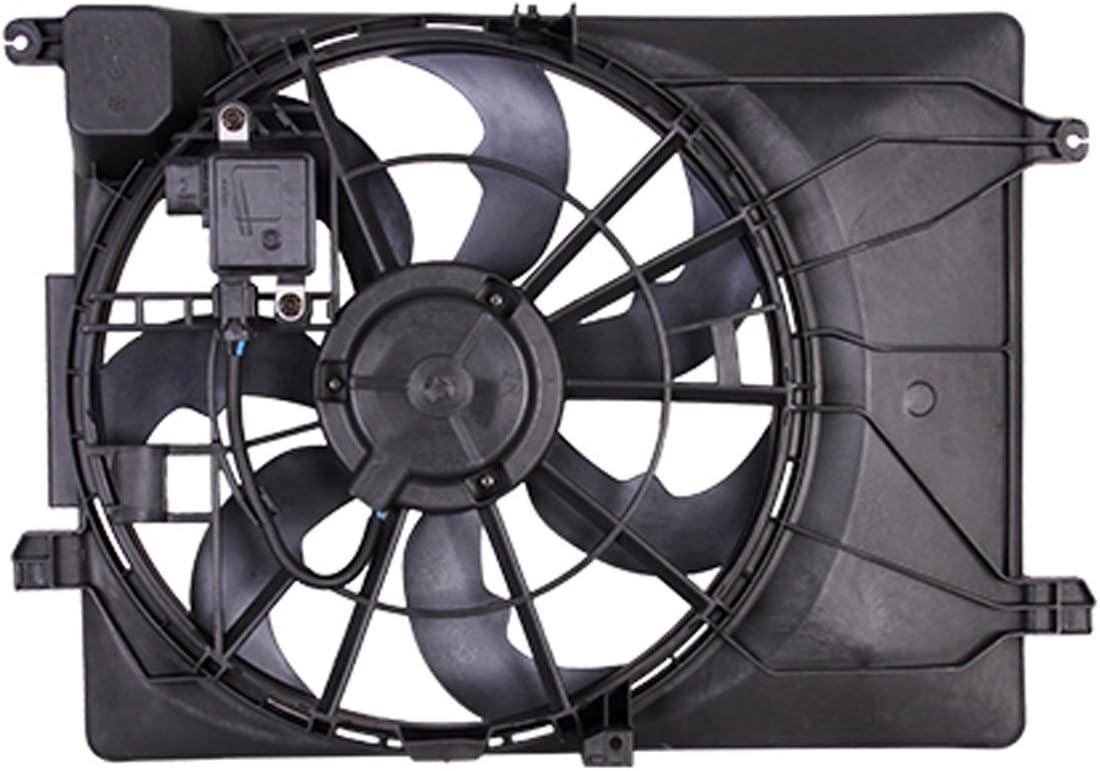 CPP doble radiador y condensador Ventilador hy3115155 para Hyundai ...