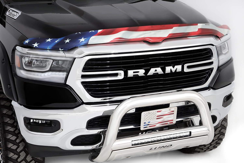 Vigilante Premium Hood Shield for 2019 Ram 1500 American Flag