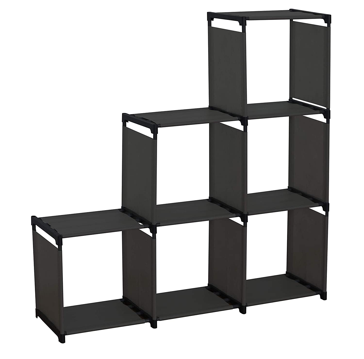 74b47e1c182e Farberware Cube Storage Closet Organizer Durable East to Clean Non-Woven  Shelves – No Tools Required (6 Cube Shelves)