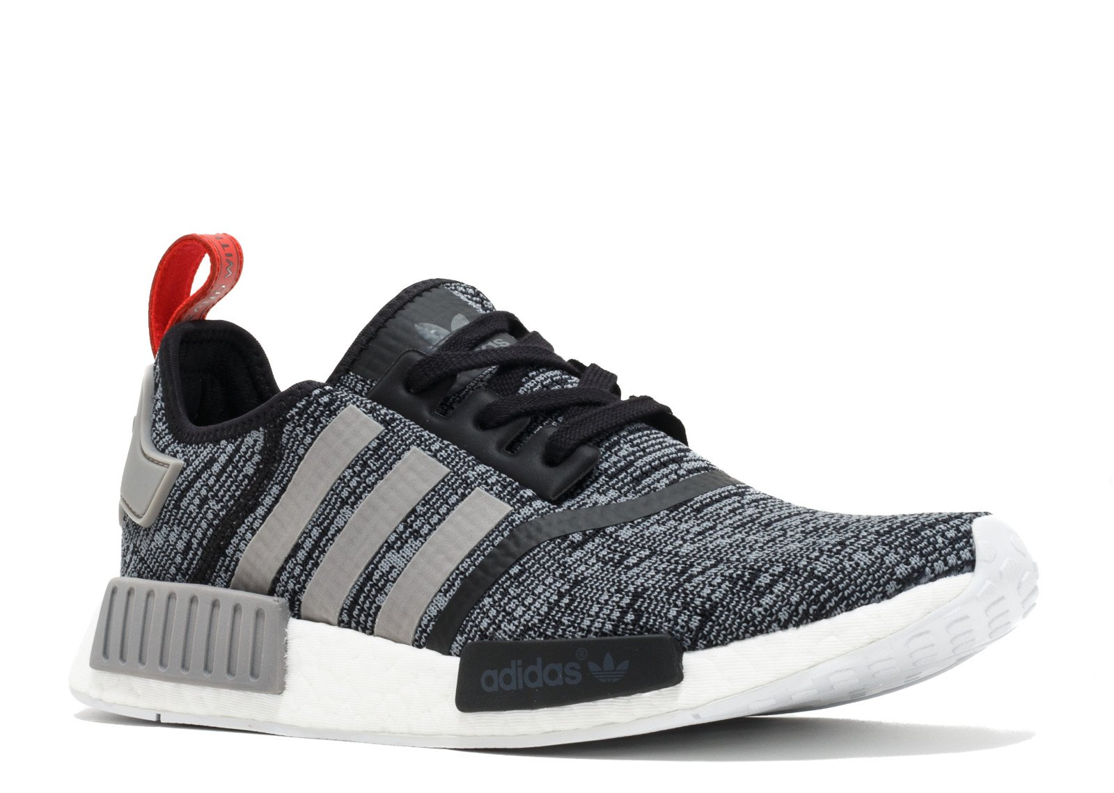 c095b80f2b915 Galleon - Adidas NMD R1 Men s Running Shoes Core Black Vibrant Red Running  White Bb2884 (9.5 D(M) US)