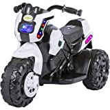 Baybee Diabolico Battery Operated Bike (WHITE)