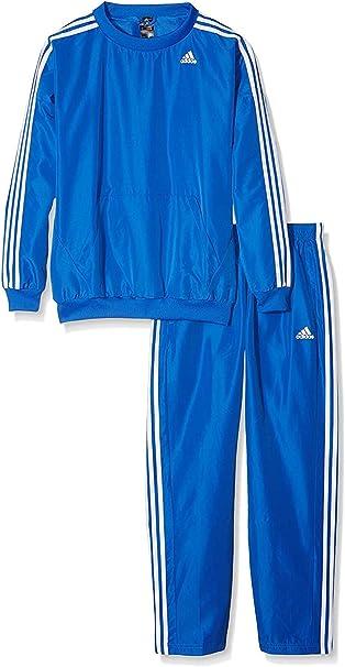 adidas TS Young Chandal, Hombre, Azul/Blanco, M: Amazon.es ...