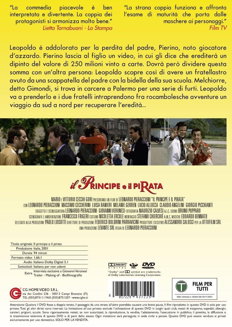 Amazon Com Il Principe E Il Pirata Massimo Ceccherini Luisa Ranieri Leonardo Pieraccioni Movies Tv