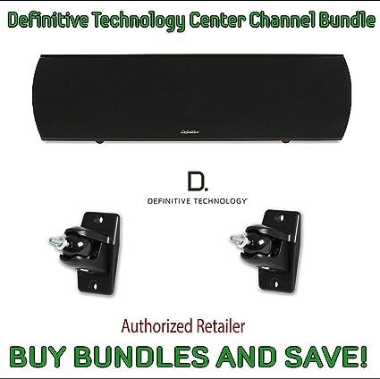 Definitive Technology ProCenter 2000 Center  Speaker Certified Refurbished