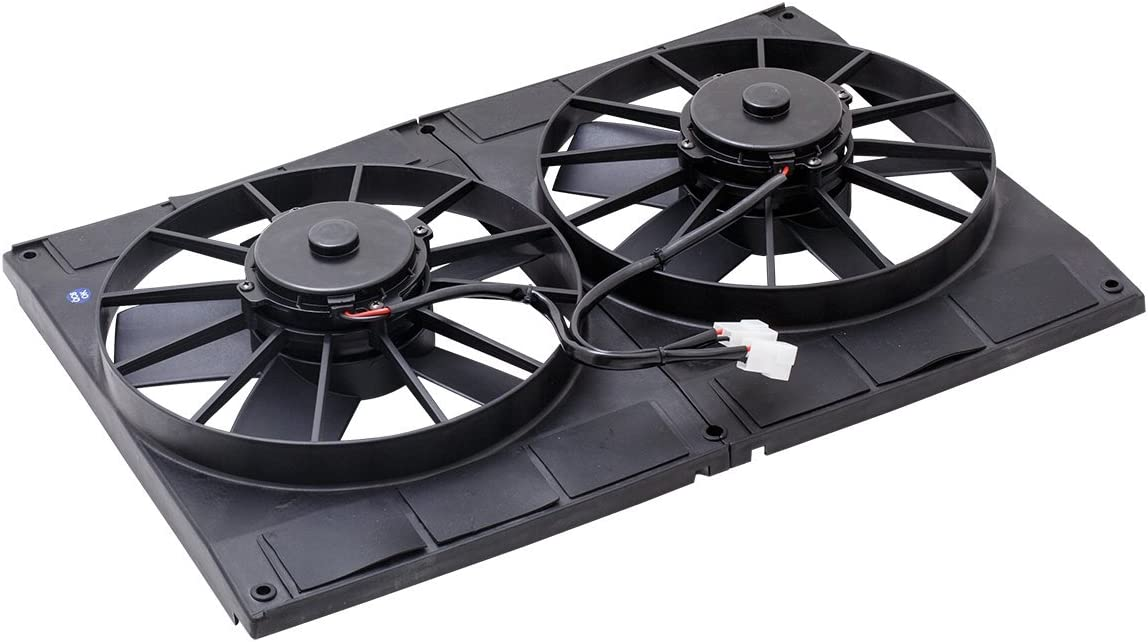 """PULLER TSP 11/"""" PROFLOW ELECTRIC COOLING FAN STRAIGHT BLADE 1,400 CFM UNIVERSAl"""