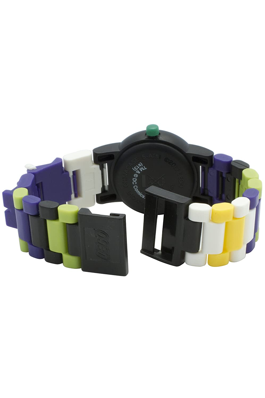 Lego Batman Movie 9001239 Joker Kinder Armbanduhr Mit Minifigur Und Star Wars Yoda Kids Buildable Watch 8021032 Gliederarmband Zum Zusammenbauen Violett Grn Kunststoff Gehusedurchmesser 25mm