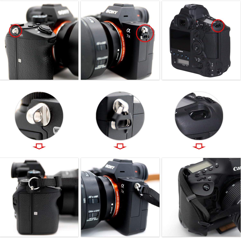 Correa de Hombro para cámara de Mezclilla, Compatible con cámaras ...