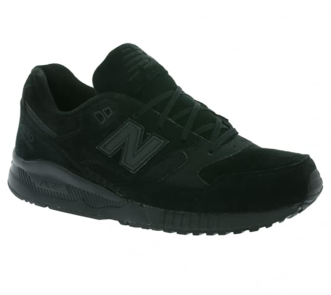 9d4f4b9426e1 New Balance Men's 530 Trainers, Black, 11.5 UK: Amazon.co.uk: Clothing