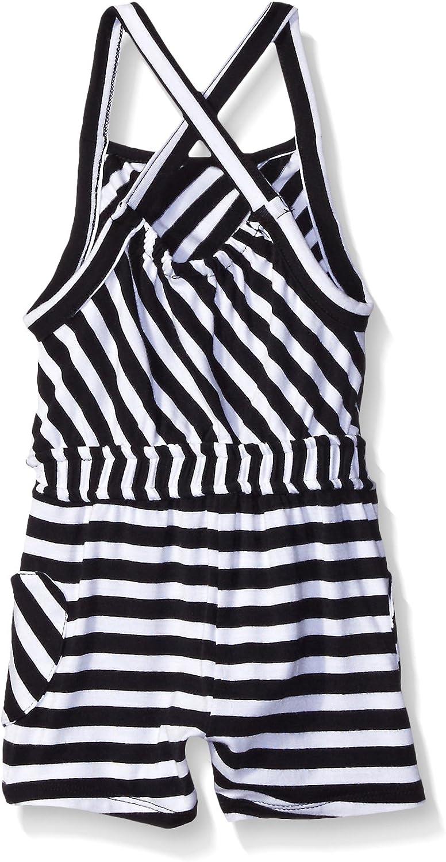 Amy Coe Baby Girls Stripe Infant Romper