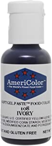 Americolor Soft Gel Paste Food Color.75-Ounce, Ivory