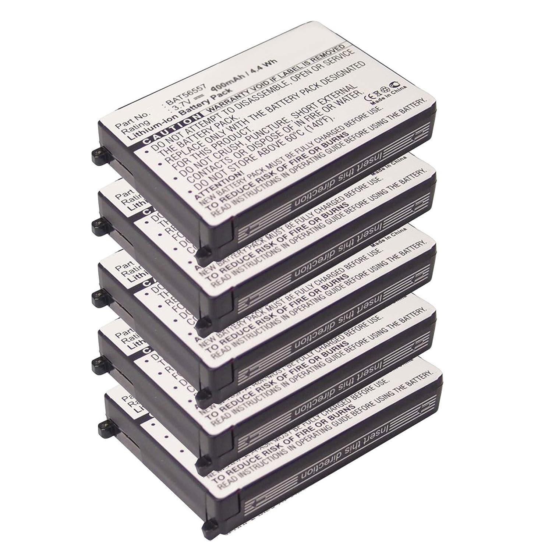 5X Exell 3.7V 900mAh Li-Ion FRS 2way Radio Battery Fits Motorola 56557, BAT56557, CLS1100, CLS1110, CLS1114, CLS1410, CLS1450CB, CLS1450CH, HCLE4159B, HCNN4006, HCNN4006A, SNN5571B, VL120, USA Ship Exell Battery