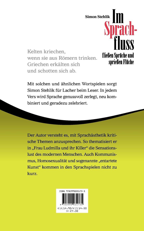 Im Sprachfluss Fließen Sprüche Und Sprießen Flüche German