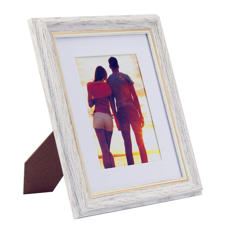 Amazon.de: HUIXIANG Bilderrahmen 13x18 Vintage Fotorahmen Retro ...
