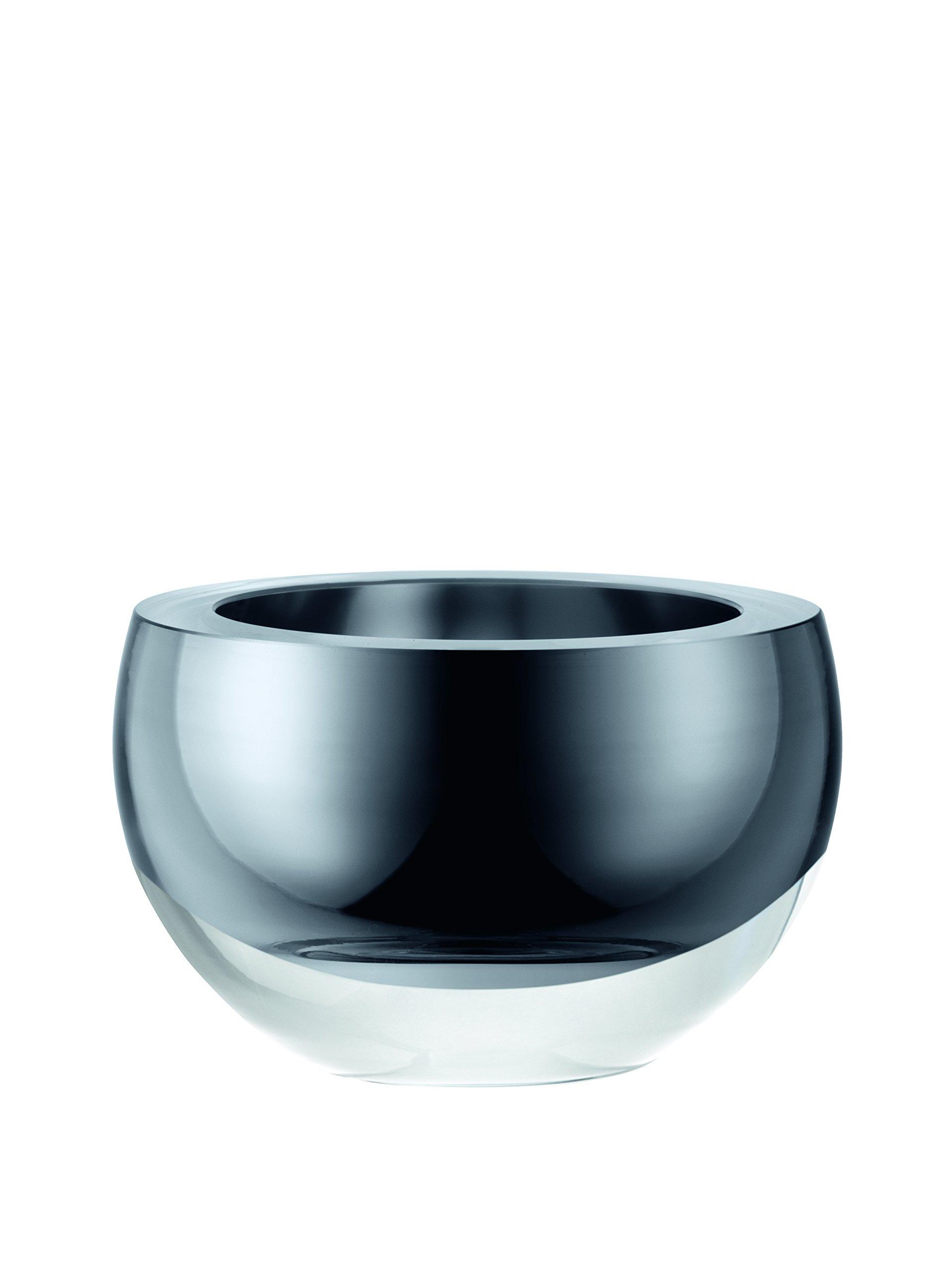 LSA International G1182-15-359 Host Decorative Bowl, Ø6in/H4in, Platinum