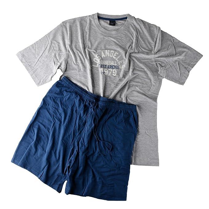 Hombre Pijama Shorty Camiseta con pantalones cortos para muñeco de los Ricos en 2 Variaciones tamaños XXL - 5 x l: Amazon.es: Ropa y accesorios