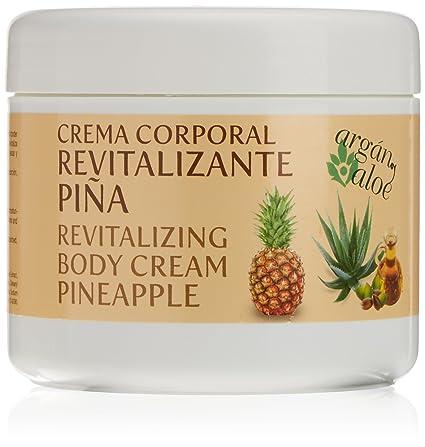 Argan-Aloe 70040 - Crema corporal revitalizante con piña