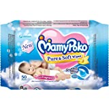 Mamy Poko Pure and Soft Fragnance Wipes (50 Sheets) Mamy Poko