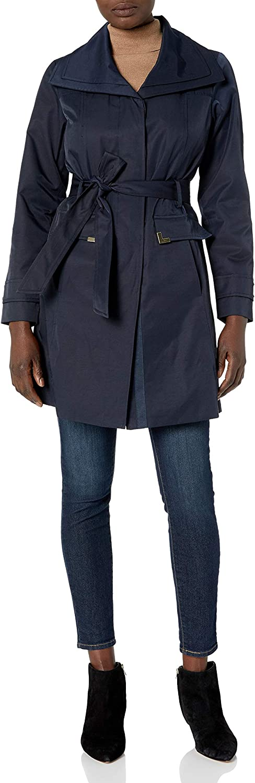 Jones New York womens Belted Trench Coat