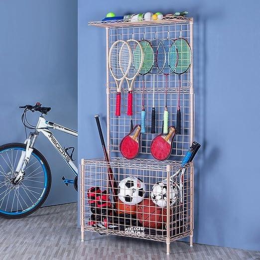 Amazon.com: LTJTVFXQ-shelf Toy Storage Rack Grid Shelf Basketball Storage Basket Kindergarten Sports Equipment Racks (Color : B): Home & Kitchen