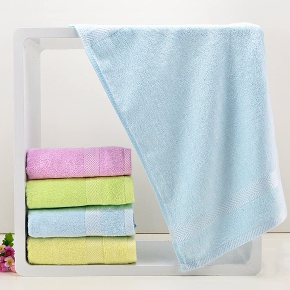Homeofying Handtuch aus Bambusfaser f/ür Babys weiches Waschlappen