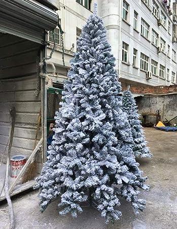 Weihnachtsbaum Aufbauen.Amazon De De Hx Beflockte Weihnachtsbaum Weiß Künstlicher