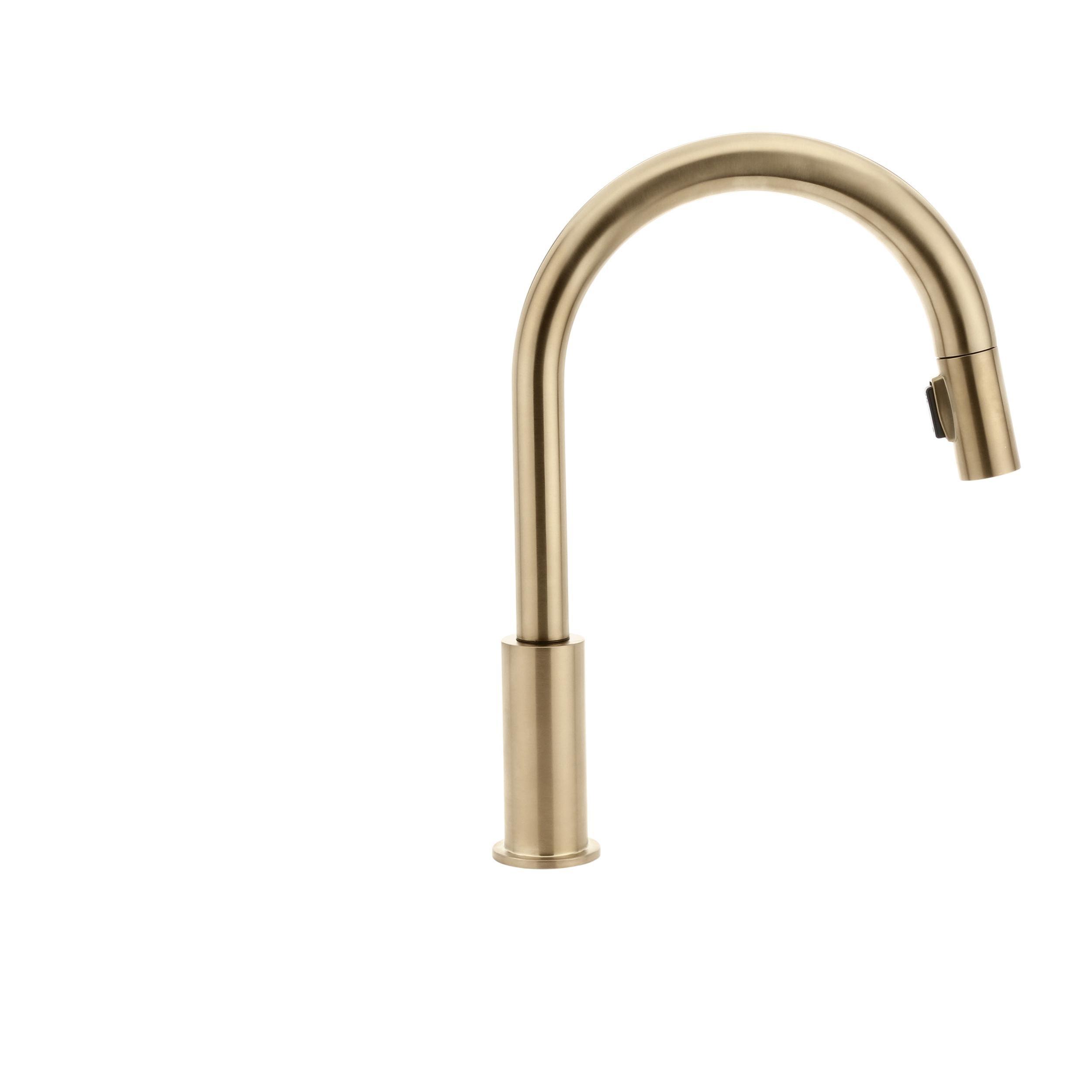 Delta 9159-CZ-DST Trinsic Single-Handle Pull-Down Kitchen Faucet ...