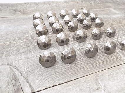 1.5 * 19 mm clavos peque/ños de cabeza redonda 1.5 * 25 mm Clavo dorado mini clavos antiguos Material Accesorios de fijaci/ón hechos a mano 1160 PCS 1.5 X 16 mm