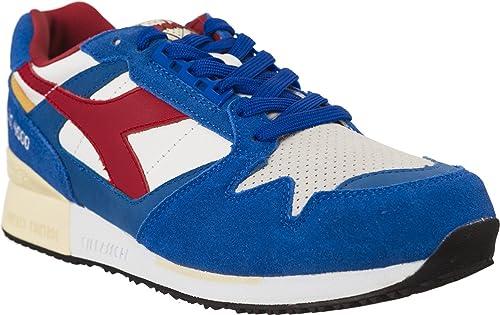 Diadora, Uomo, IC 4000 Premium, Pelle Suede, Sneakers, Rosso