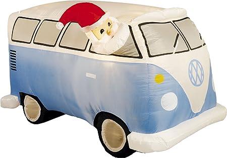 Festive Productions 267927 - Figura Hinchable de Papá Noel y ...