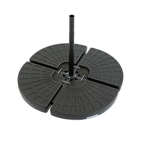 ToCi Base para sombrilla en 4 partes - Para meter peso | Cada parte mide 48.5
