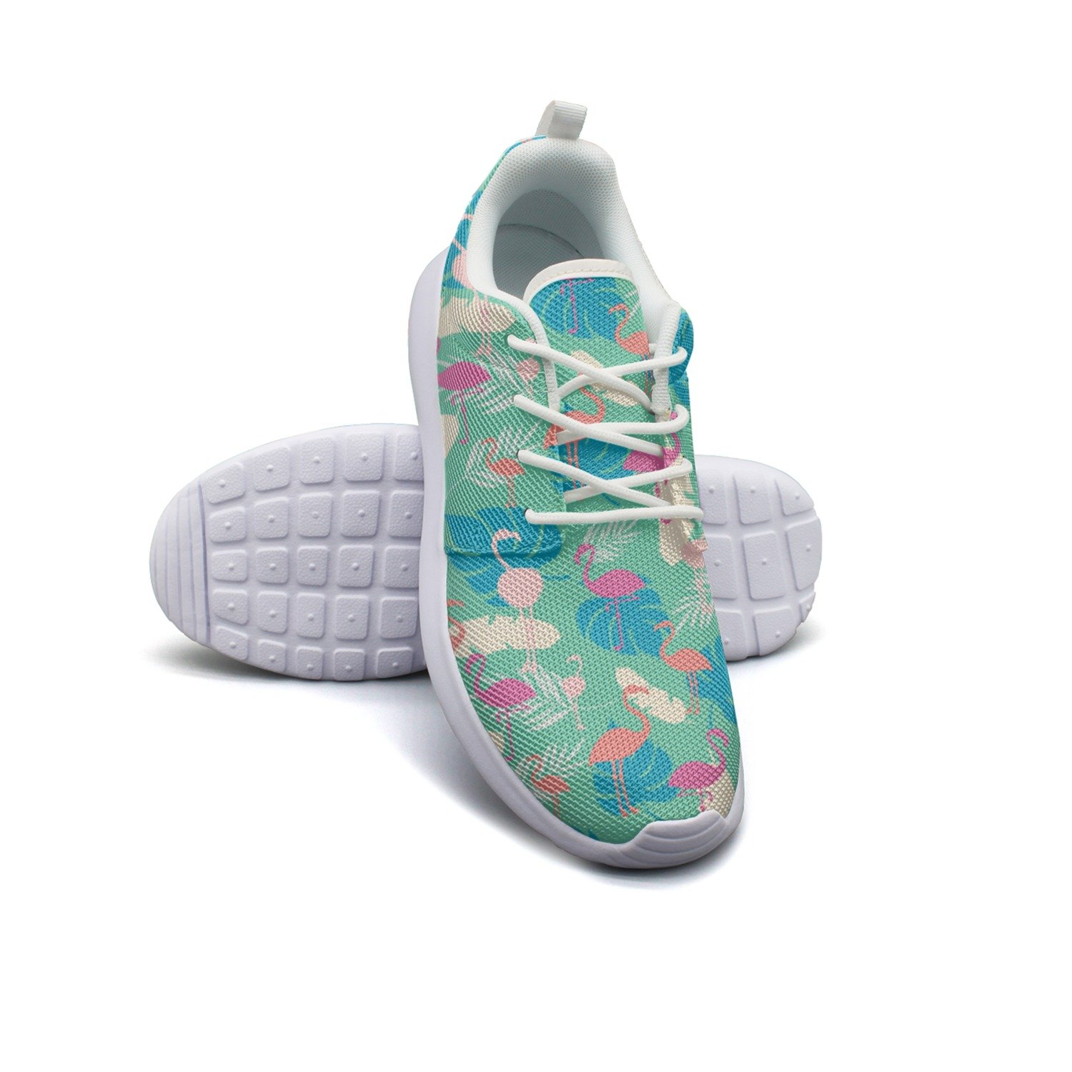 Eoyles gy Bright Tropical Summer Woman Slip Resistant Lightweight Running Sports Shoes