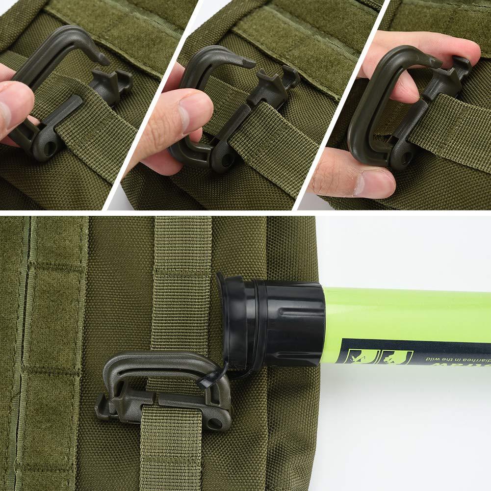 gilet tactique Irich Tactique Molle EDC Pochette Admin multifonction avec 2 sangles /à boucle la randonn/ée l/'ext/érieur kit de premiers secours m/édical EMT pour le camping
