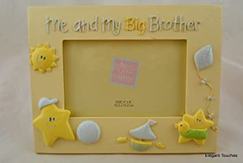 Amazoncom Russ Baby Me And My Big Brother Picture Ceramic Photo