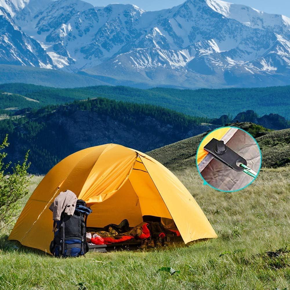 10 Pièces zeltclip planifier Parenthèses zeltclips parenthèse planenclip Extérieur Camping