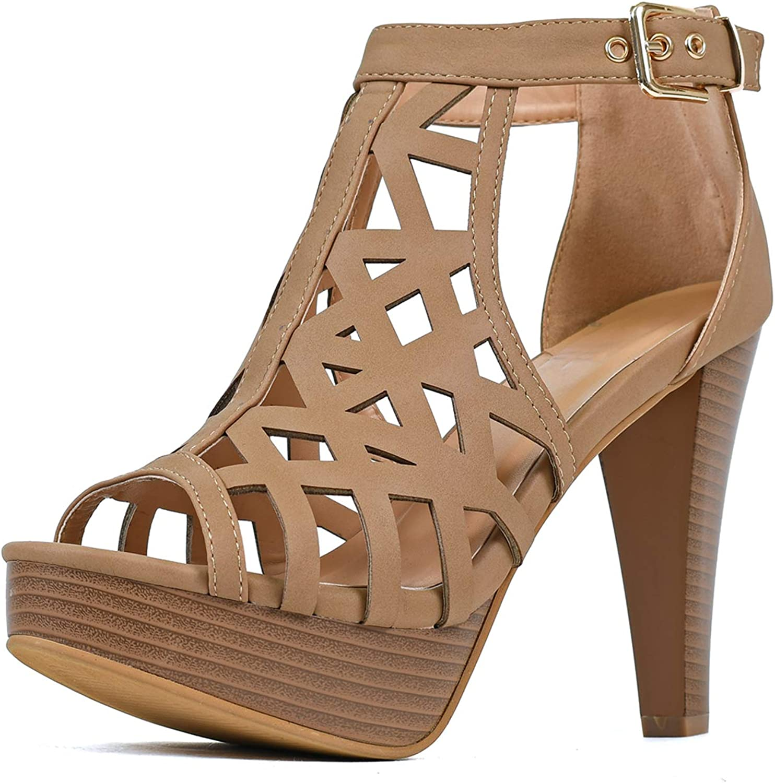 Womens Stiletto Platform High Heel