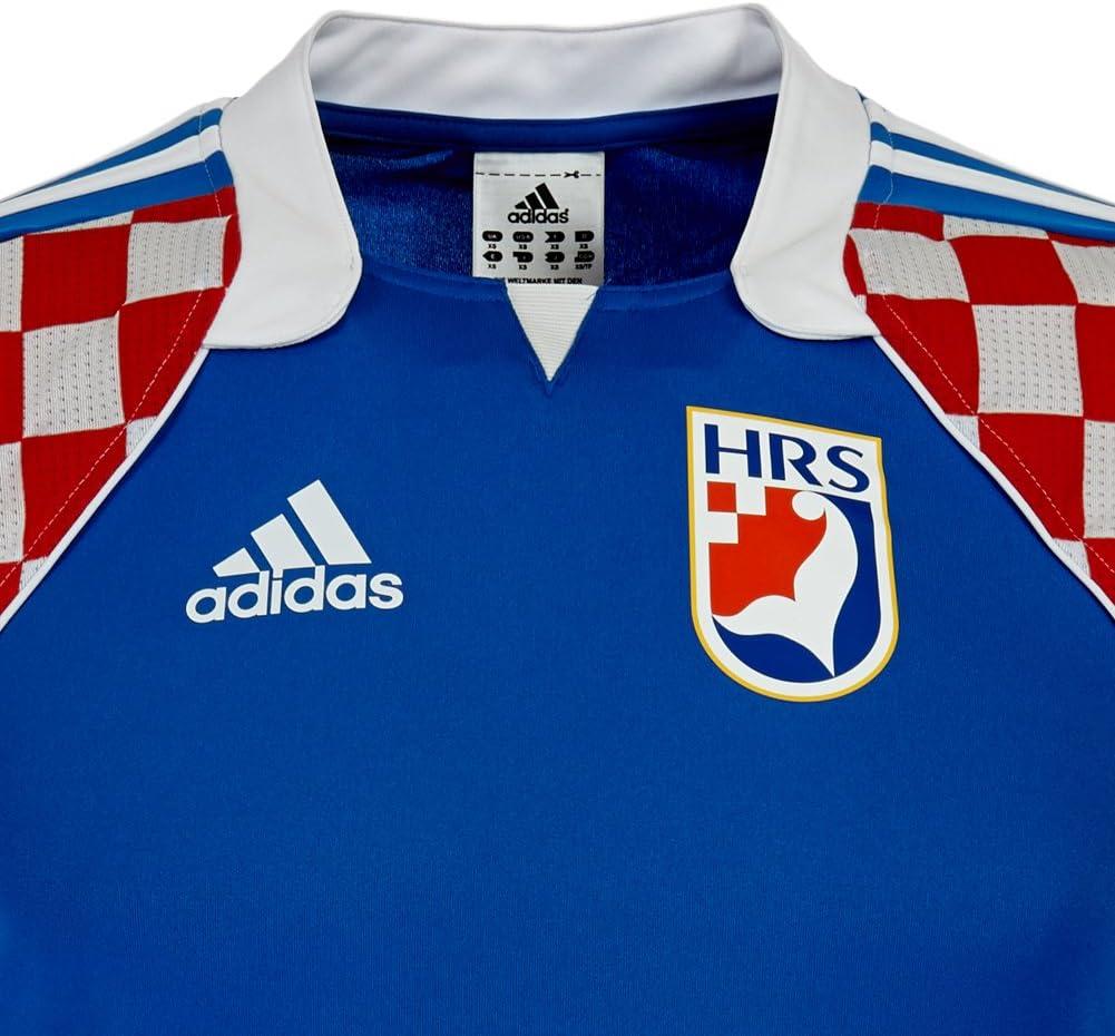 adidas - Camiseta de la selección nacional croata de balonmano azul azul Talla:large: Amazon.es: Deportes y aire libre