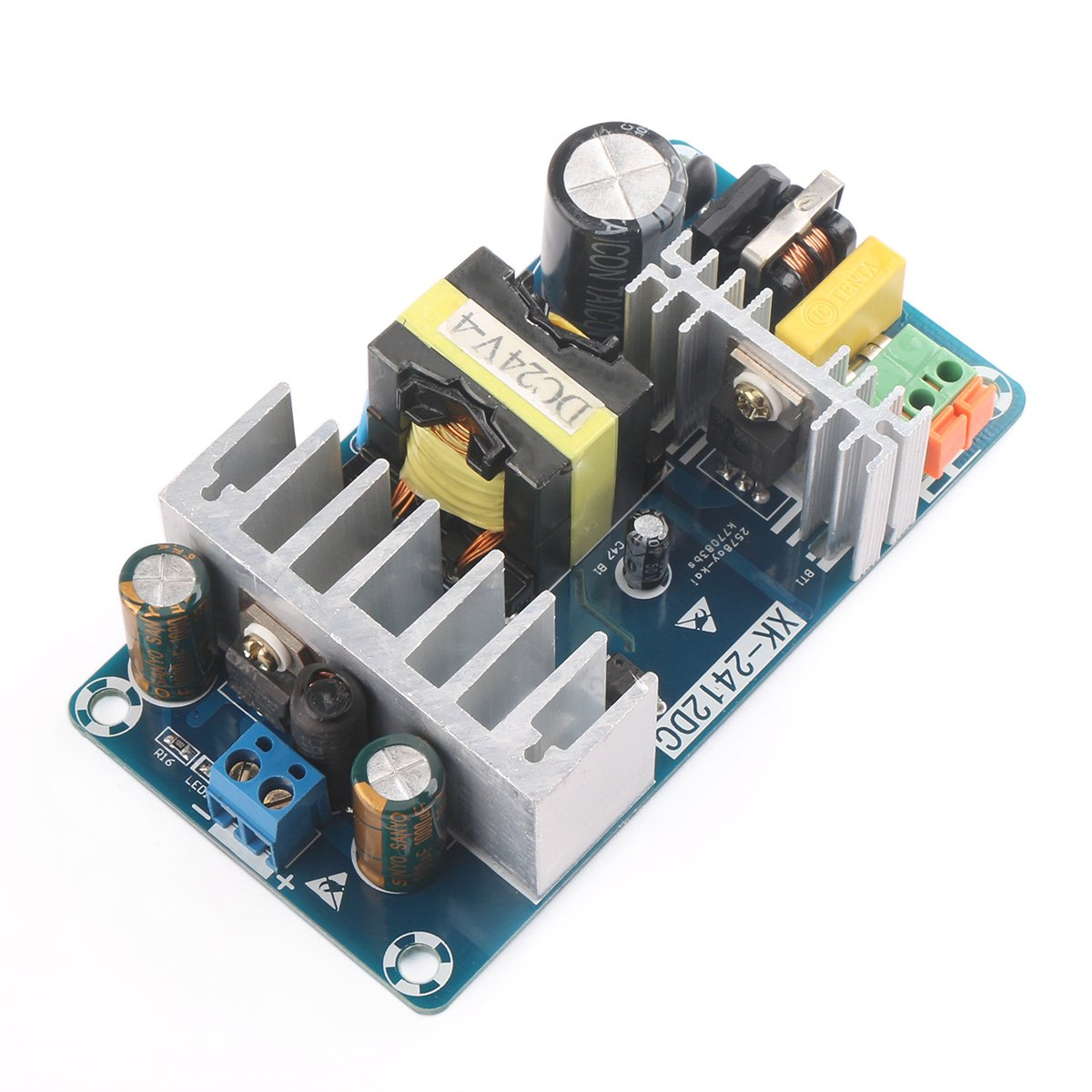 Drok Ac To Dc 24v Power Converter Module 4a 100w Sale 12vdc 5vdc Circuit Switching Supply Board 85 265v Variable Input With Indicator Industrial Grade Switch