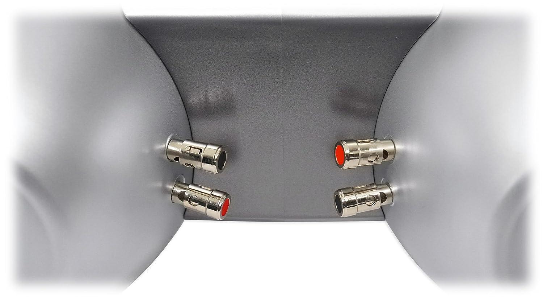 Rockville DWB65S Dual 6.5 600w Tower Speaker For Polaris RZR//Jeep//ATV//UTV//Cart