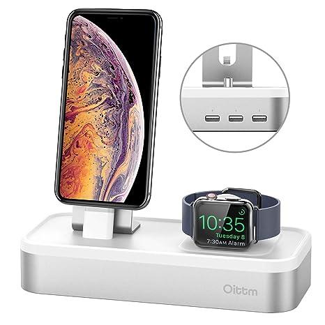 Apple Soporte Reloj, Oittm [3 en 1 Cargador Dock] estación ...
