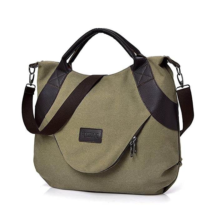 Amazoncom Womens Messenger Bagscausal Canvas Travel Shoulder Bags