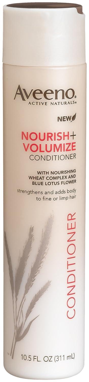 Aveeno Nourish+ Volumize Conditioner, 10.5-Ounce Bottles (Pack of 3)