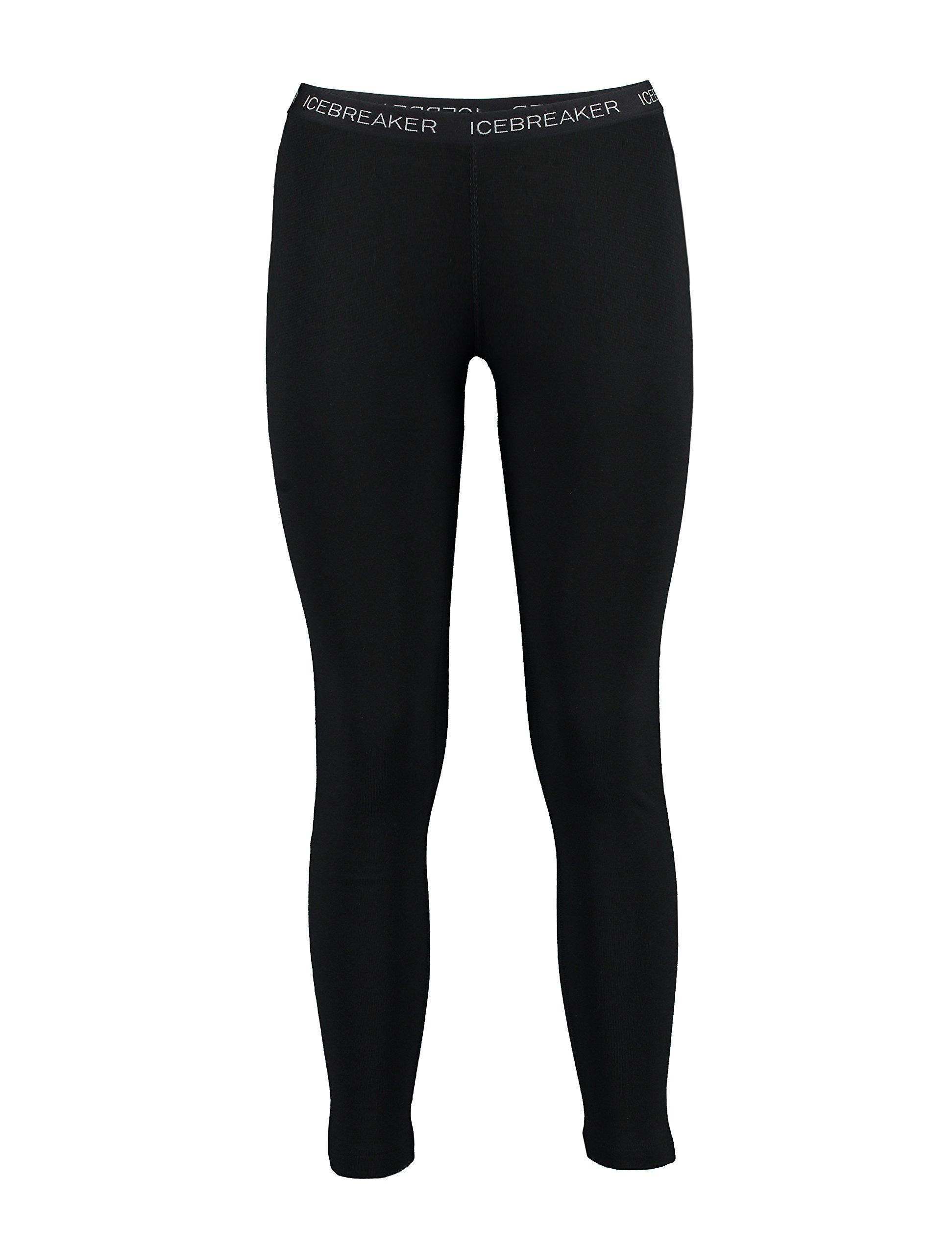 Icebreaker Women's Vertex Leggings, Black, Small