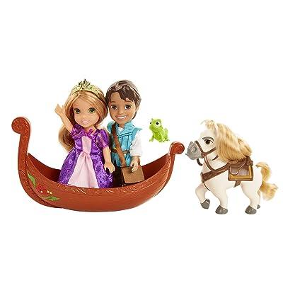 Disney Princess Rapunzel & Flynn Doll Petite Storytelling Gift Set: Toys & Games