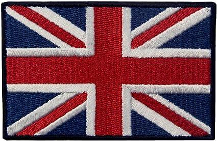 Union Jack Drapeau Royaume-Uni Badge fabriqué à la Main Rouge Blanc Bleu Patriotique Britannique Cadeau