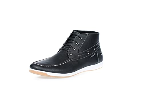 d556284b751b9 Akademiks Mens Comfort Mid-Cut Boat Shoes