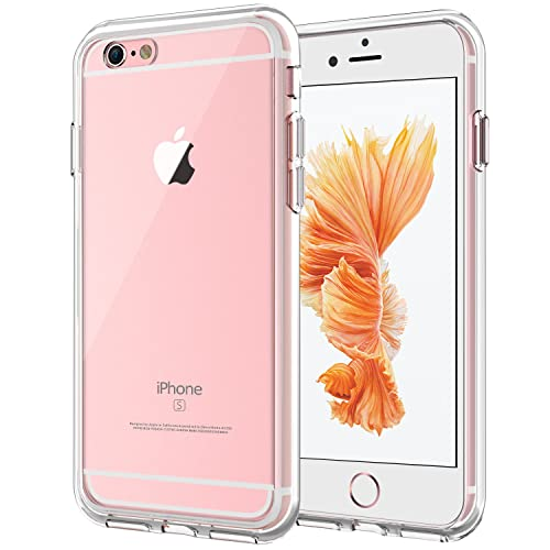 JETech Case for Apple iPhone 6 iPhone 6s, Shock-Absorption Bumper Cover, Anti-Scratch Clear Back, HD Clear