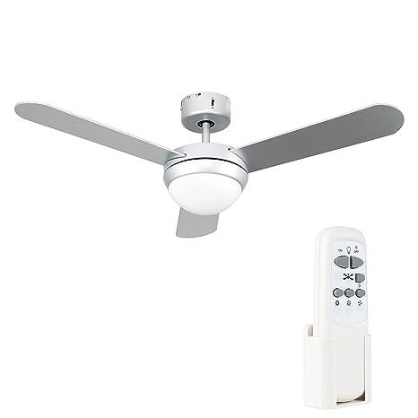 Schema Elettrico Ventilatore A Soffitto : Minisun ventilatore da soffitto moderno con luce cm di