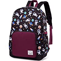 Backpack for Boys, VASCHY Cute Lightweight Water Resistant Preschool Backpack for Boys and Girls Kindergarten Bookbag…